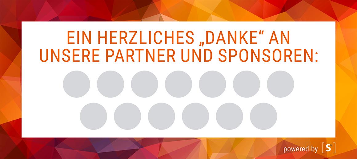 Eventdisplays für Liveticker Programm Sponsorlogos und Social Wall