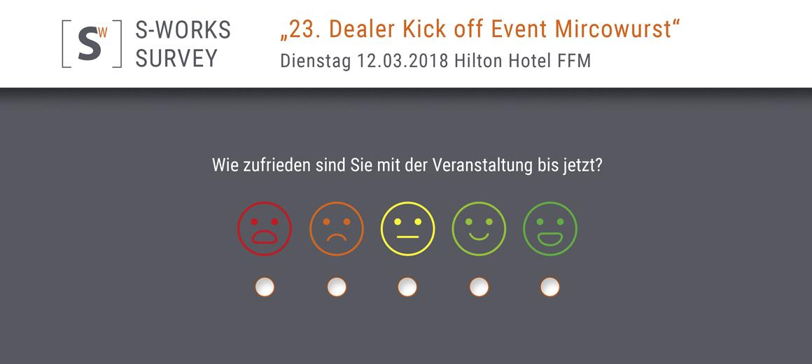Das Bild zeigt Feedback Tools von SWORKS aus Bonn